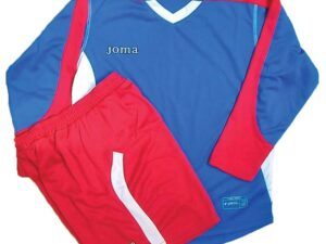 JOMA 1119.99.0014 SET CALCIO MUNDIAL ML ROYAL ROSSO