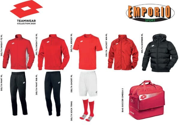 KIT LOTTO 2020 ROSSO